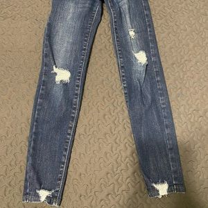 Girls Ripped Jeans